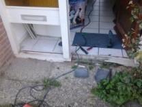 Herstellen houtrot en complete onderdorpels vervangen aan een woning in de Heinencamp te Nijkerk
